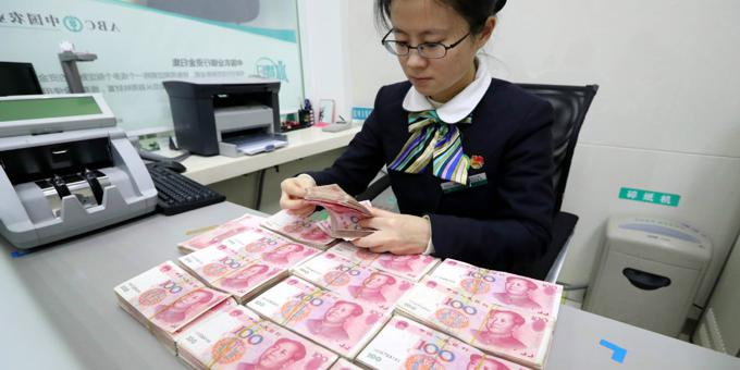 China's central bank signals economy strengthening