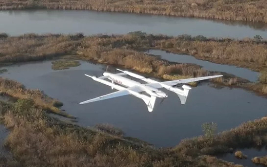 China launches drone that can carry a 100kg load 1,000km