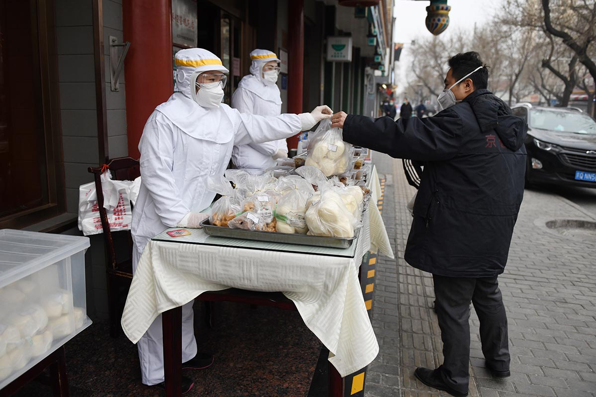 Food prices continue to rise in China