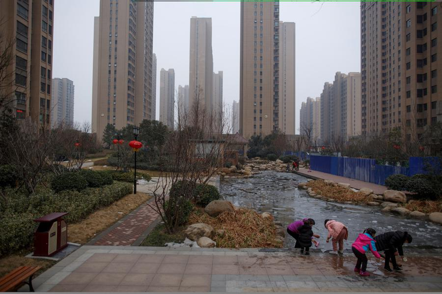 Home prices falling in some China cities