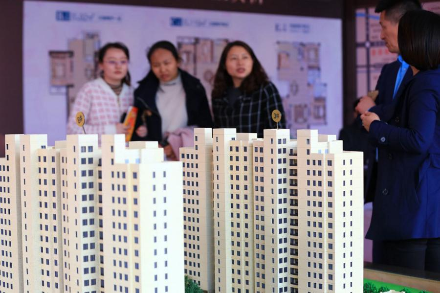 Property first off the blocks as China's economy rebounds