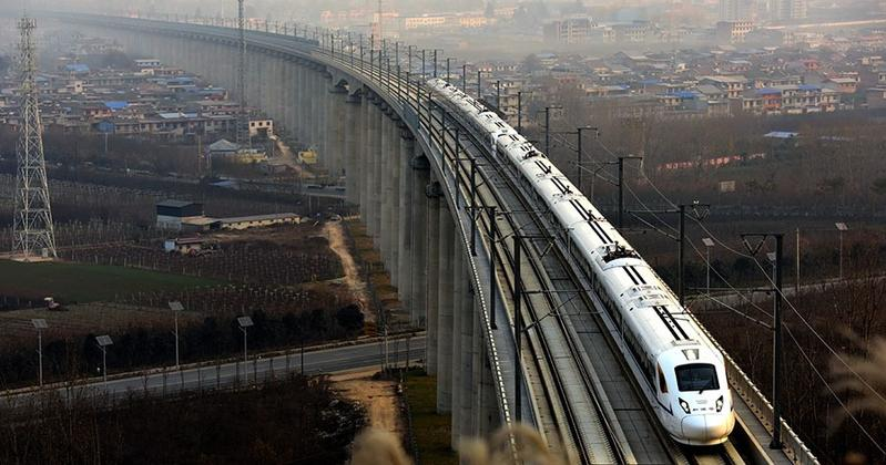 China rail construction to rise by 100 bn yuan
