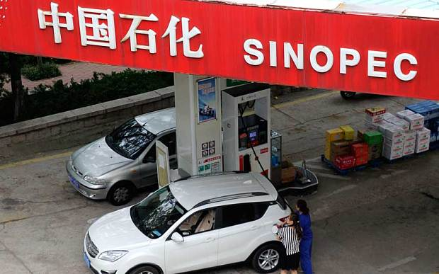 Sinopec fights back against illegal and tax free oil products
