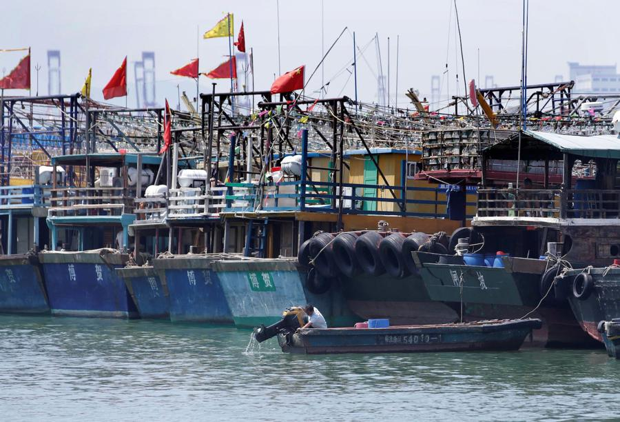 China agrees to 'intensive' WTO talks on fisheries