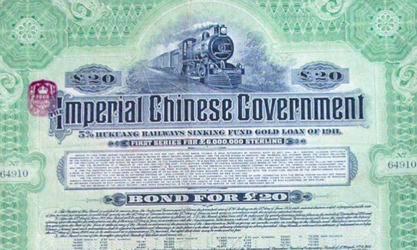US calls for payment on Qing Dynasty bonds worth $1.6 trillion