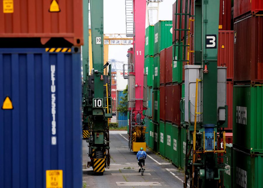 Japan's exports extend double-digit declines as pandemic hits demand