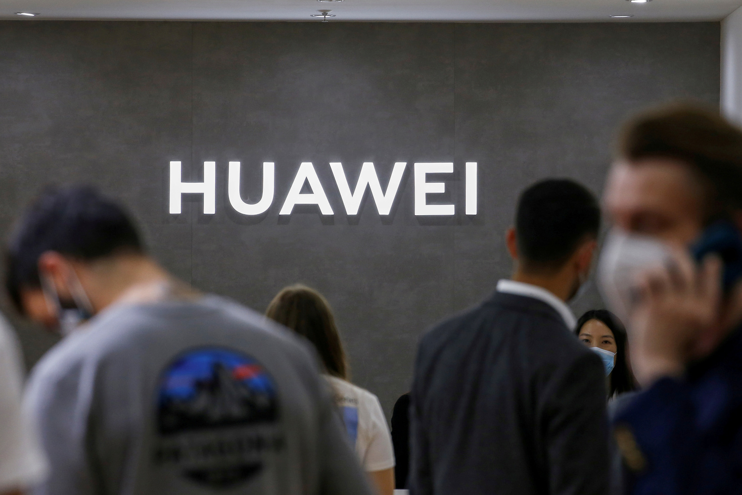 Huawei chip stockpile 'can't meet demand' for new premium phone