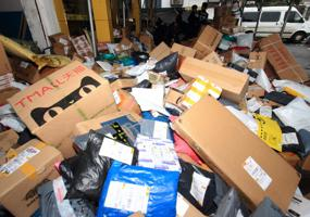 China goes to war on excessive courier packaging waste