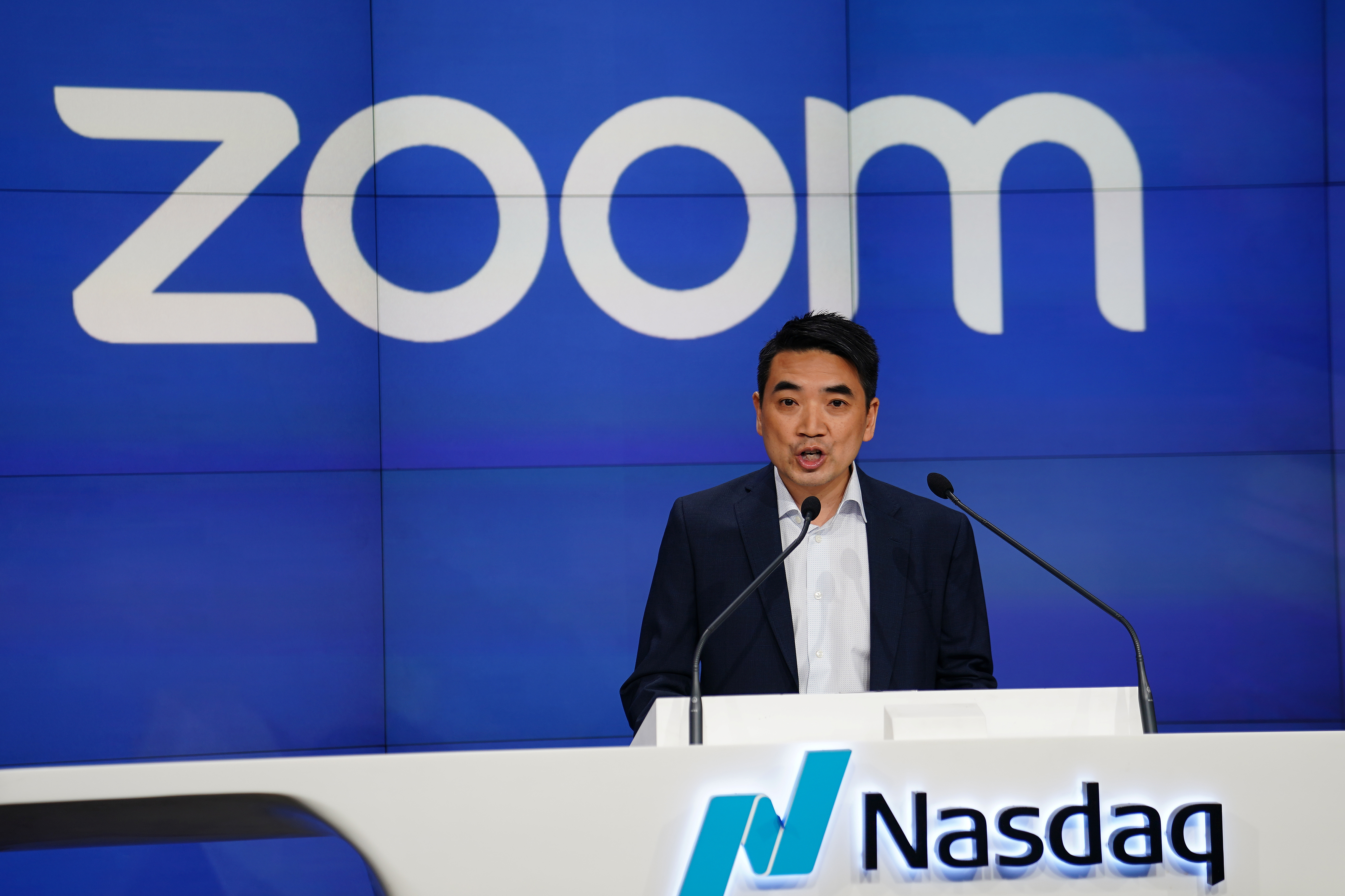 Question mark as Zoom chief Yuan gives away $6bn