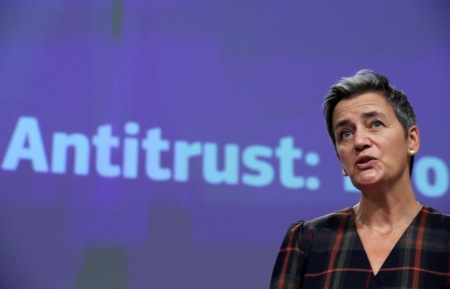 European Commission taking a tough line against US tech giants, a