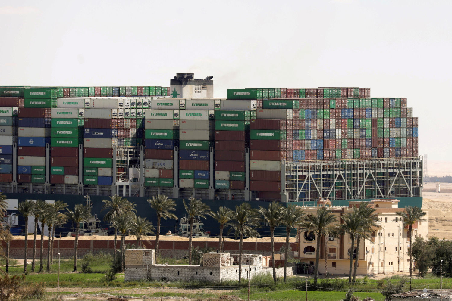 Suez Canal wrangle near deal as container spot rates soar