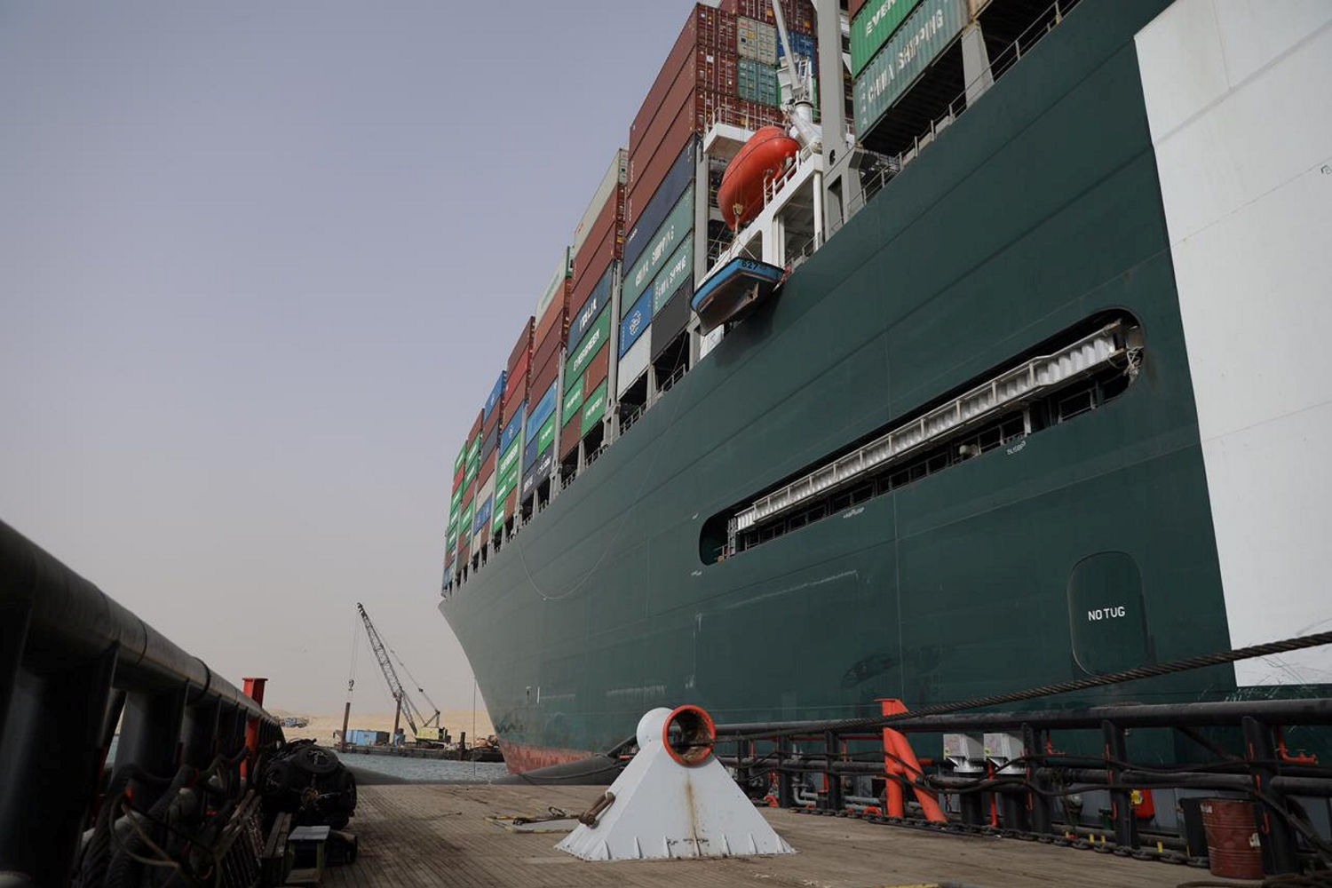 Grounded Suez Canal ship puts automotive industry at risk