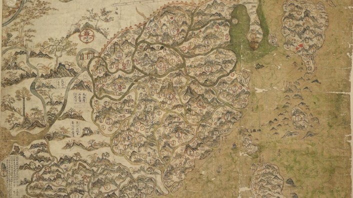 Ancient map puts China in its proper place