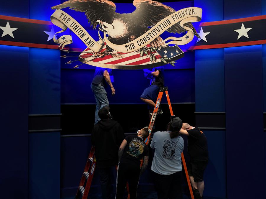 US presidential debate spurs caution