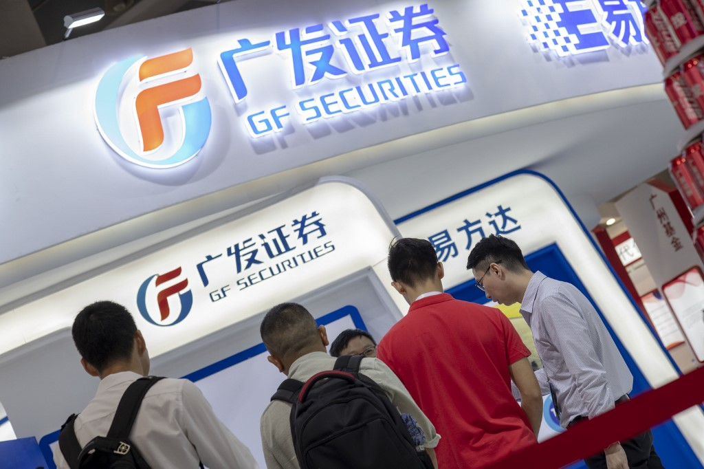 GF Securities under administration, activities frozen