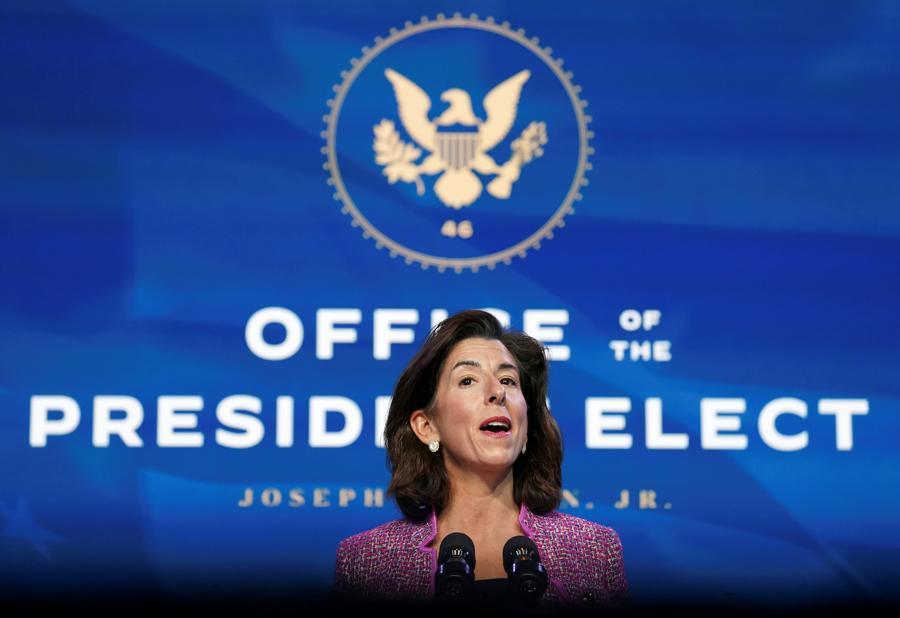 Biden's Commerce nominee to vow strong enforcement