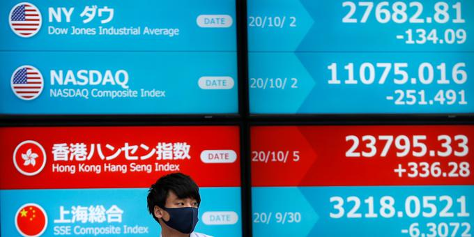 Fading hopes of US stimulus roils markets