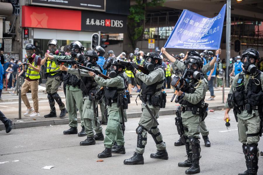 China warns US of countermeasures over Hong Kong trade threats