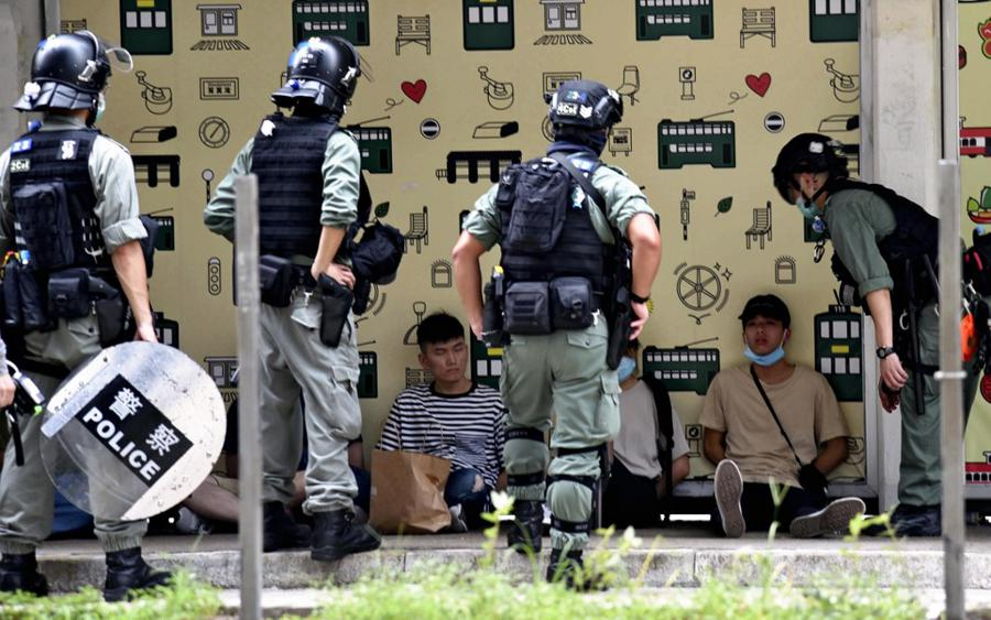 Hong Kongers scrub social media history in face of security law