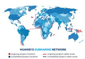 Huawei submarine cable unit changes name, identity