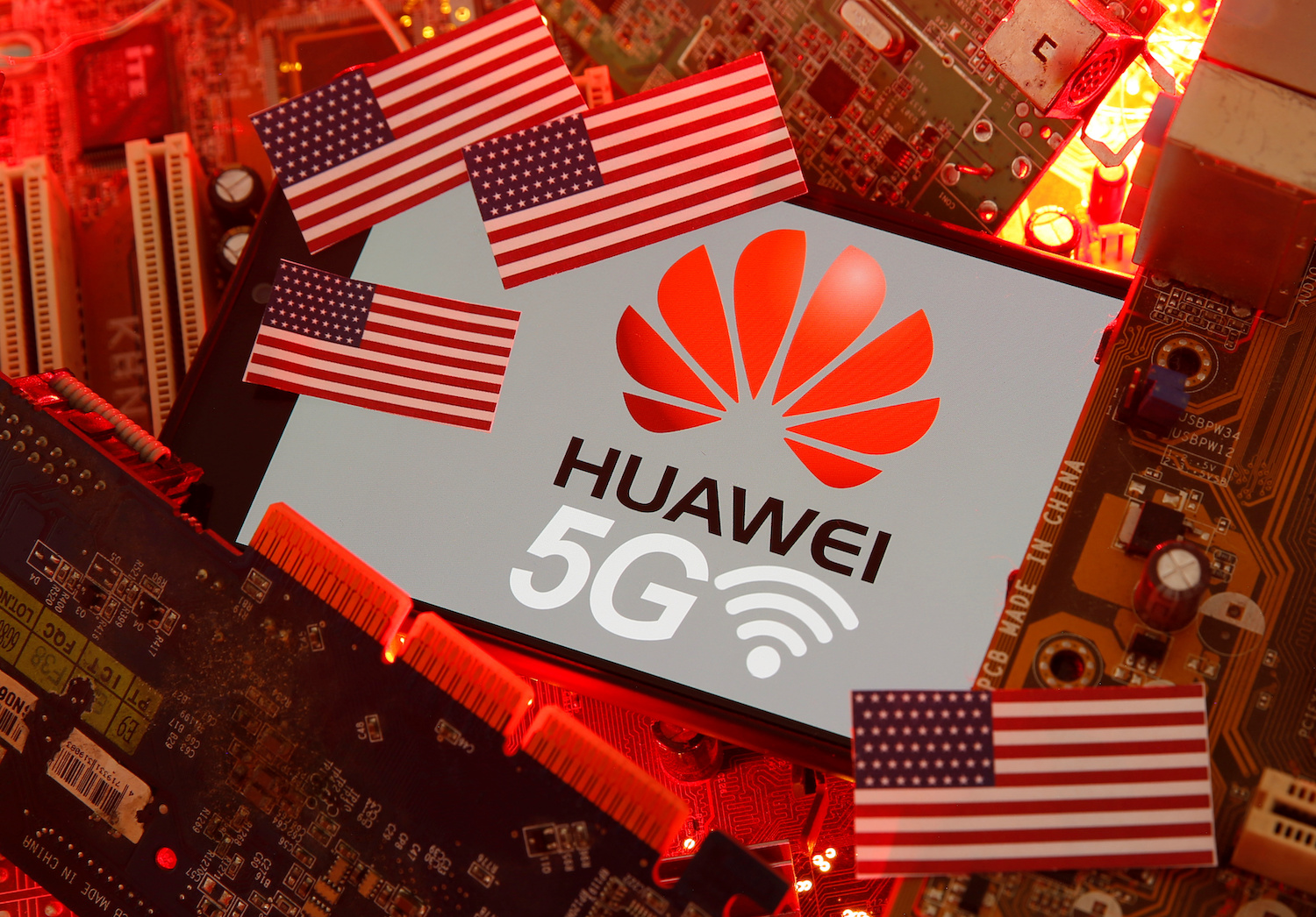 US and India tighten the screws on Huawei