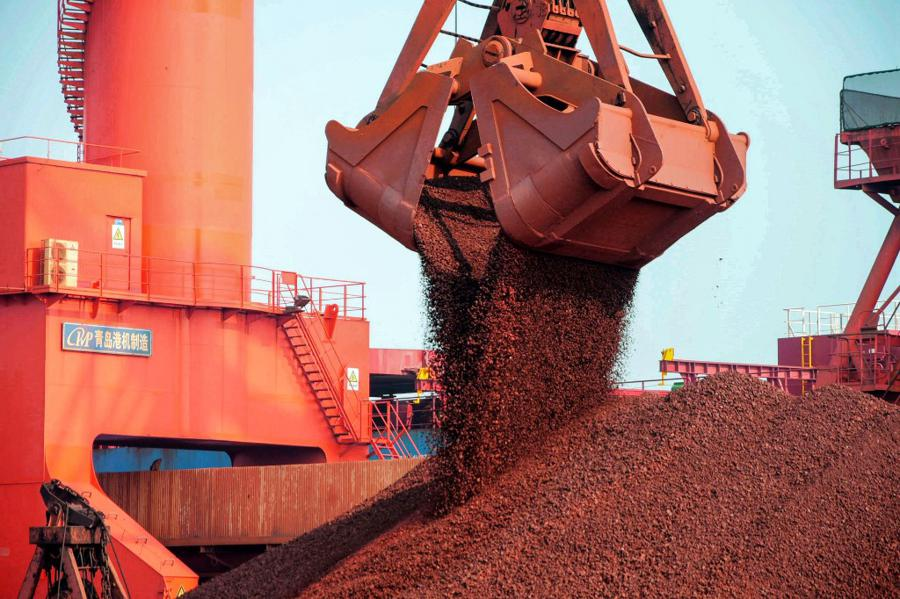 China's demand for iron ore recovering