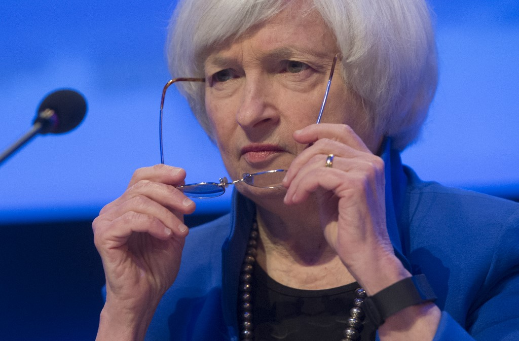Markets rally before Yellen speech