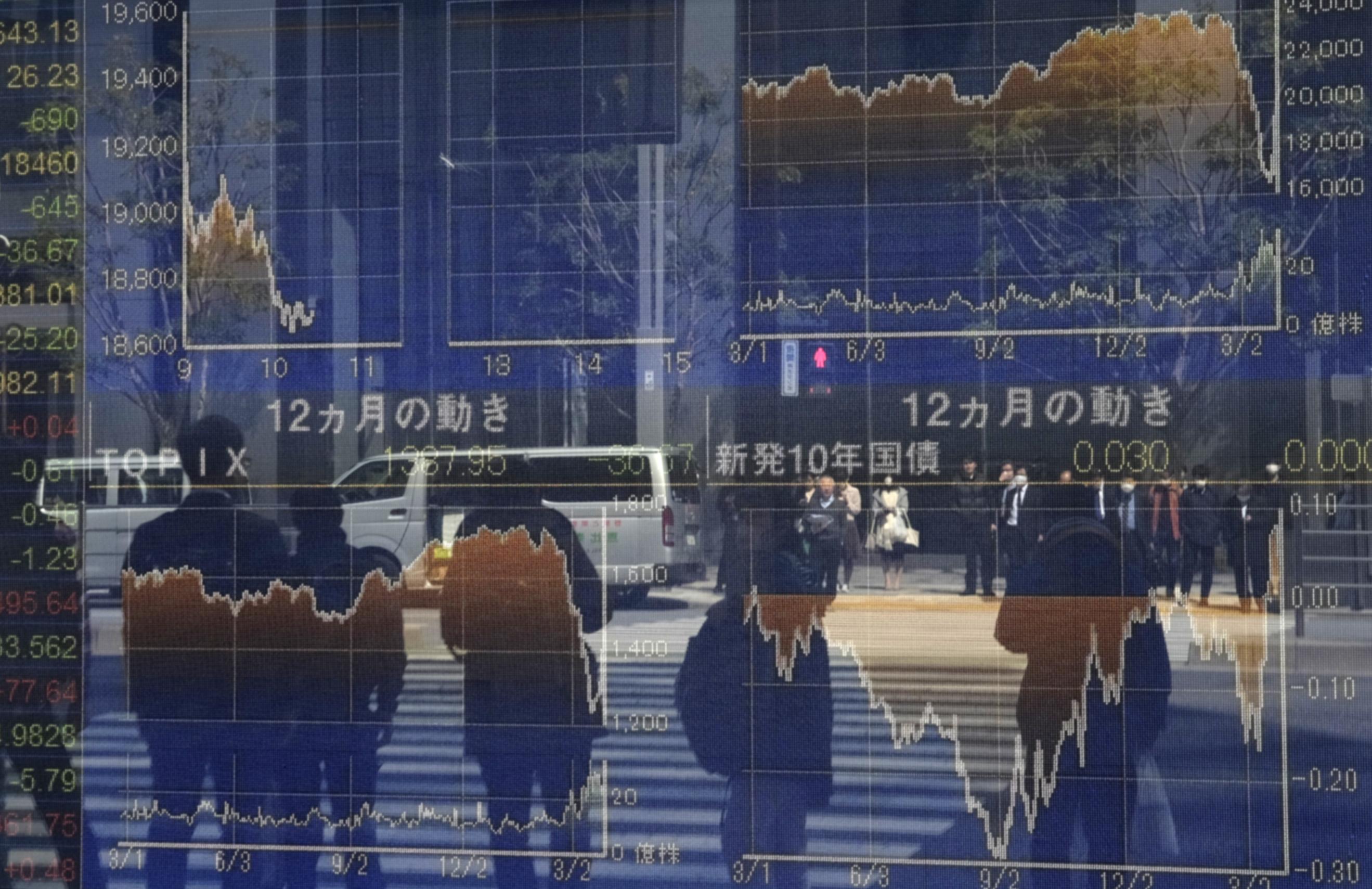 Asian surge powered by Japan, Australia as HK slips