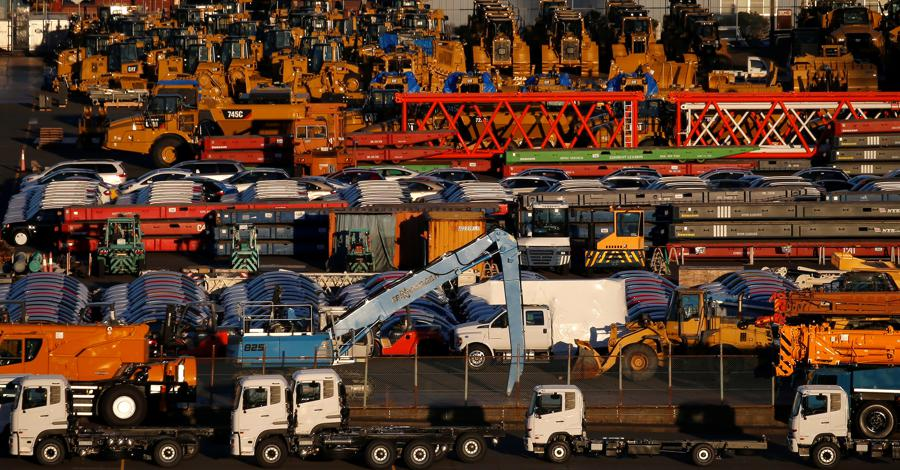 Japan factory output up but retail sales down