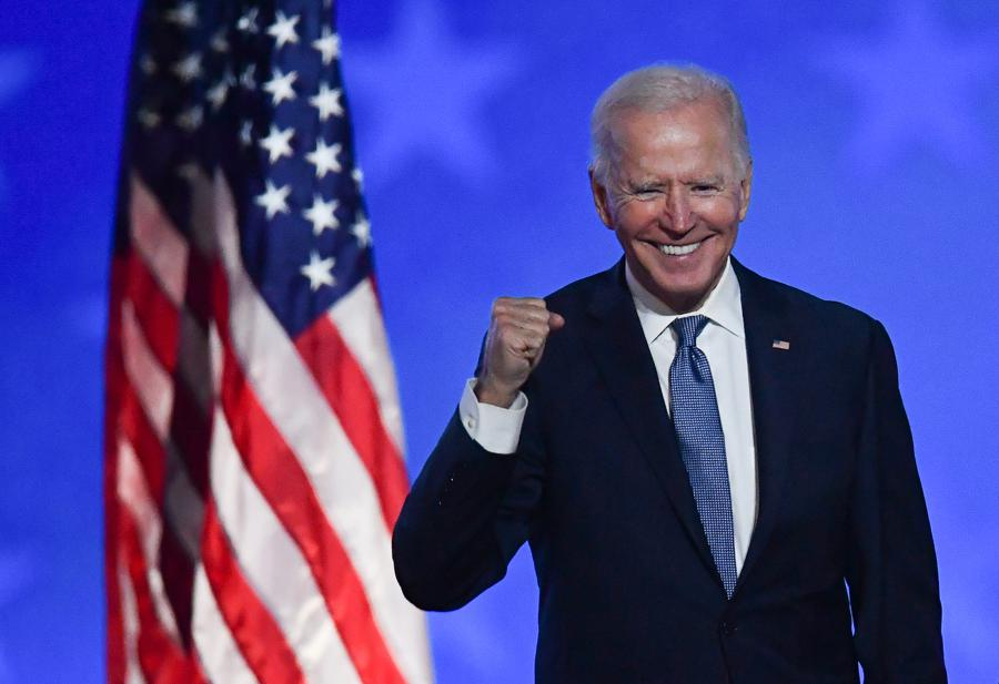 Markets in Biden rally as US holds its breath