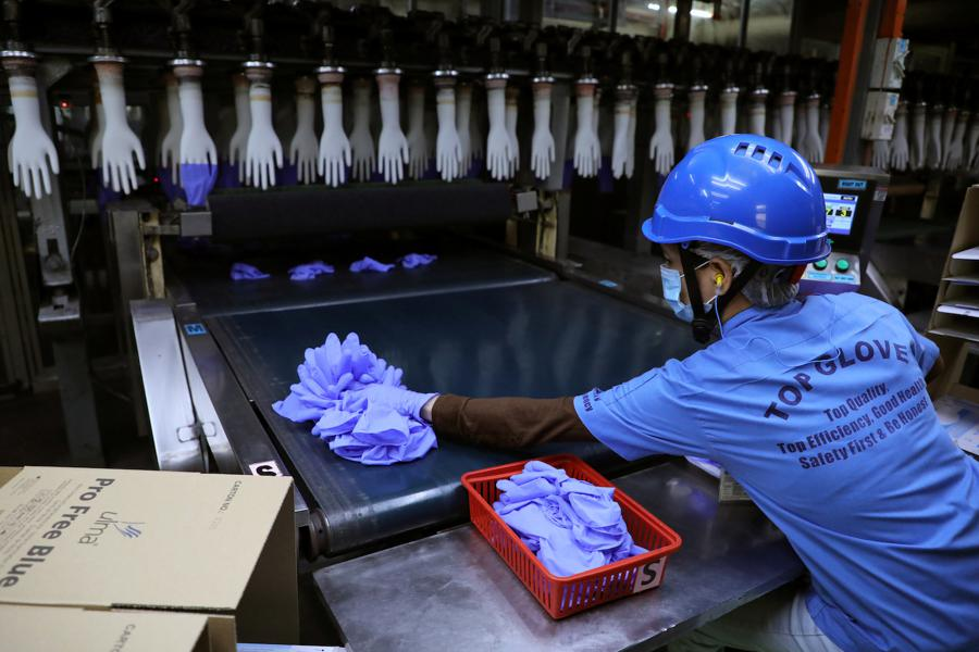 Malaysian rubber gloves put on US list of goods made by forced labour