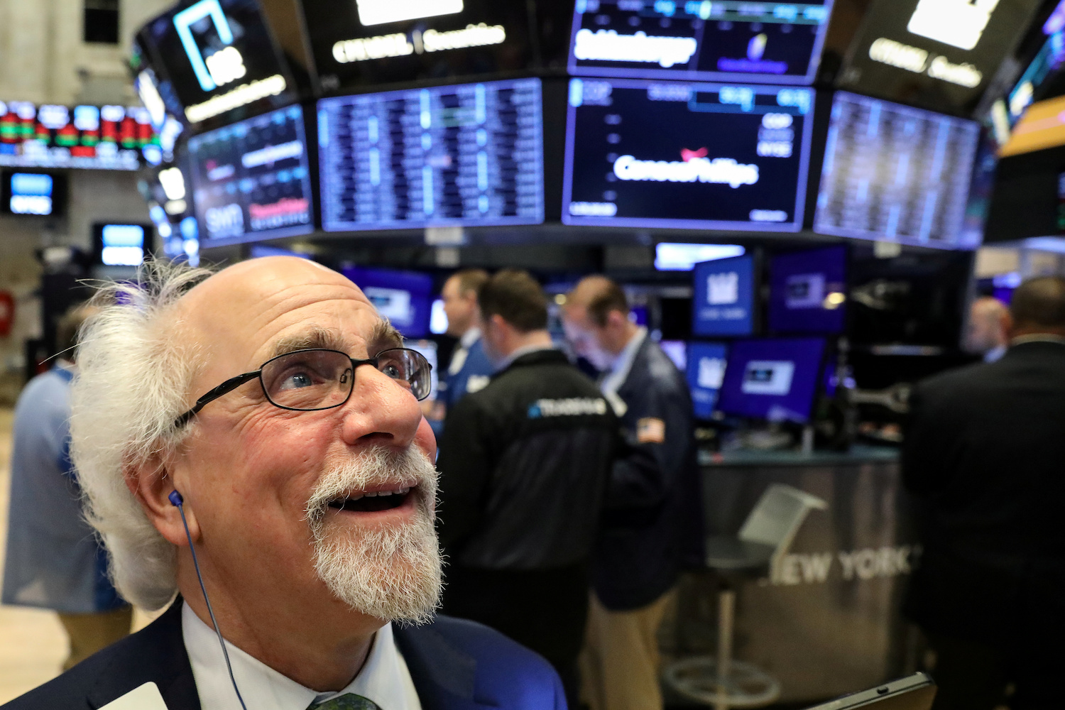Global equities' performance leaves US markets floundering