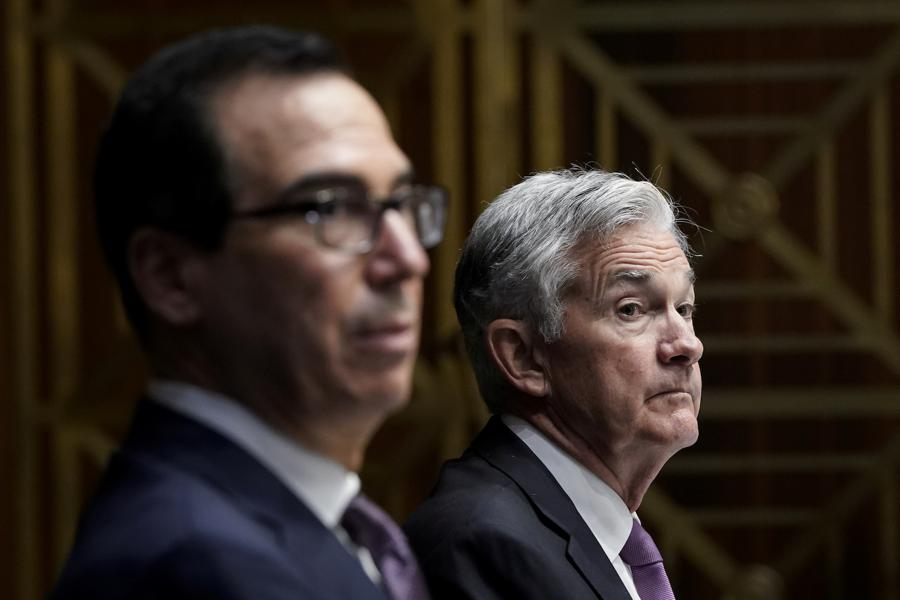 Mnuchin, Powell say $380 bn in unused aid could help US economy