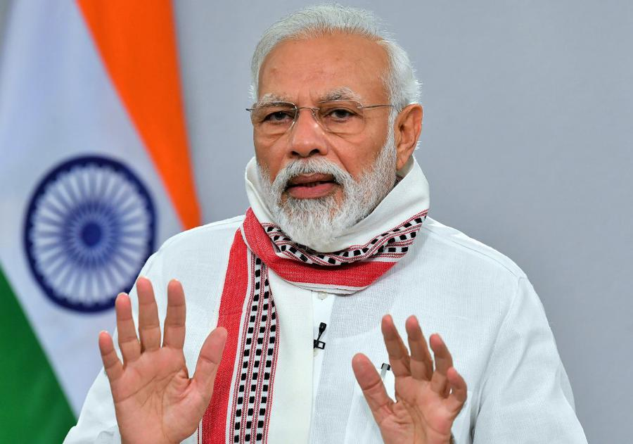 Crypto scammers target Indian PM's Twitter account