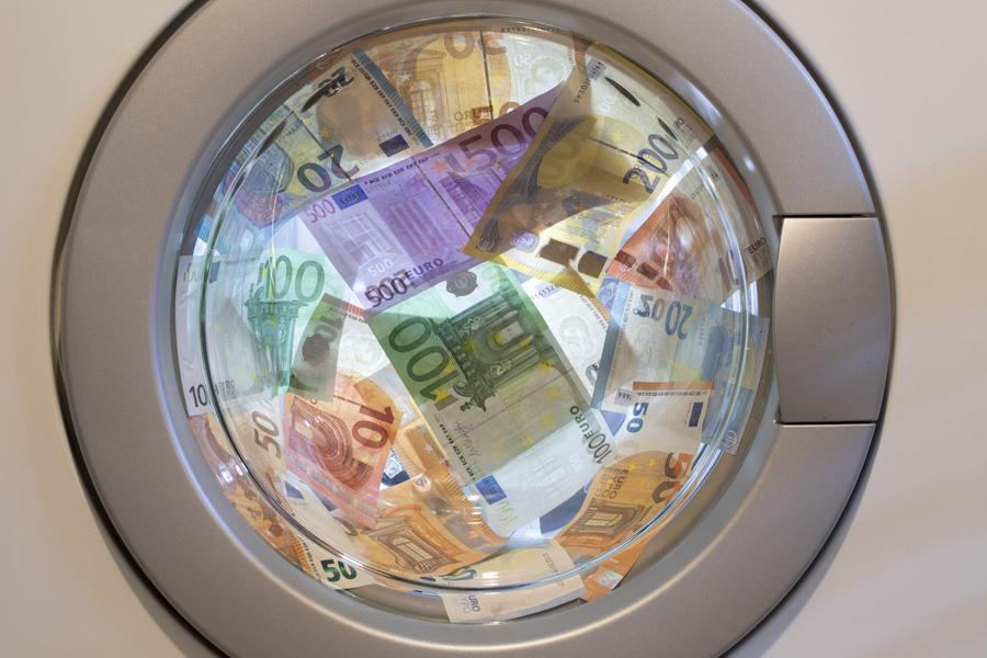 Bank shares plummet on laundering allegations