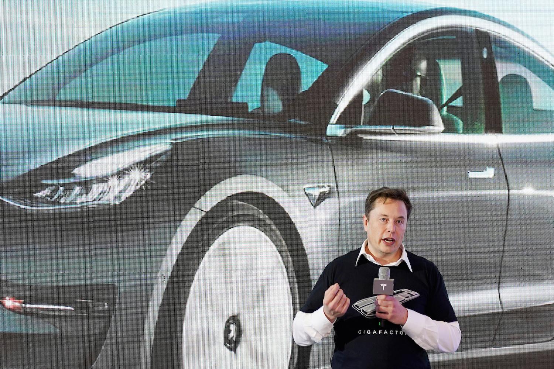 Tesla surge takes Chinese electric vehicle stocks on wild ride