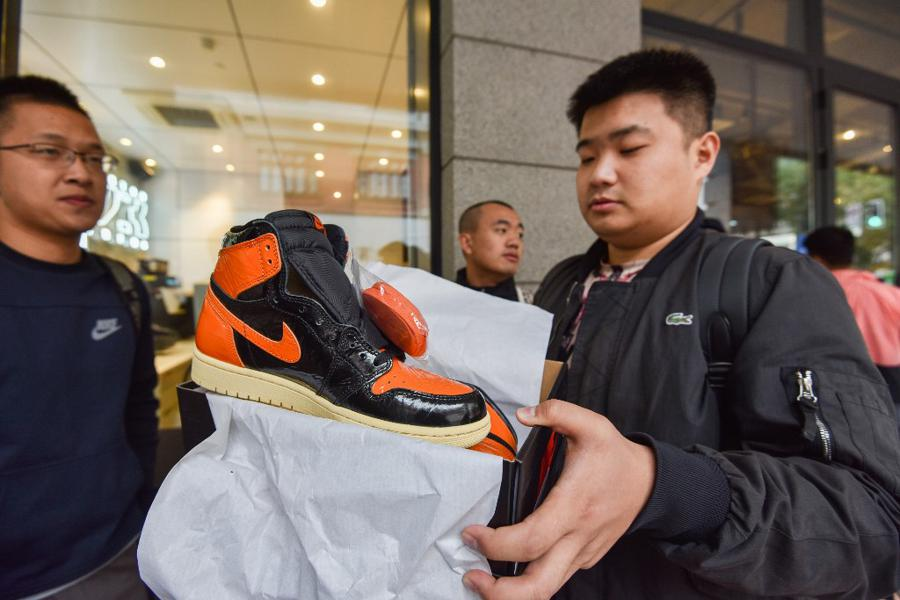 Boost from e-commerce helps Nike's China sales