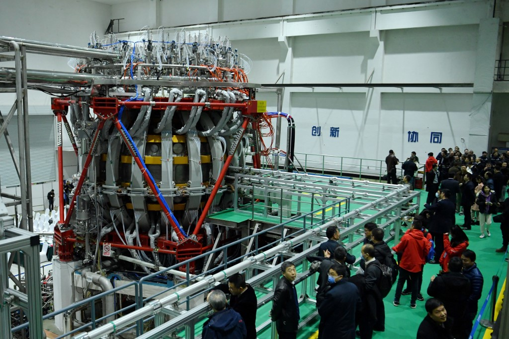 China fires up nuclear fusion reactor