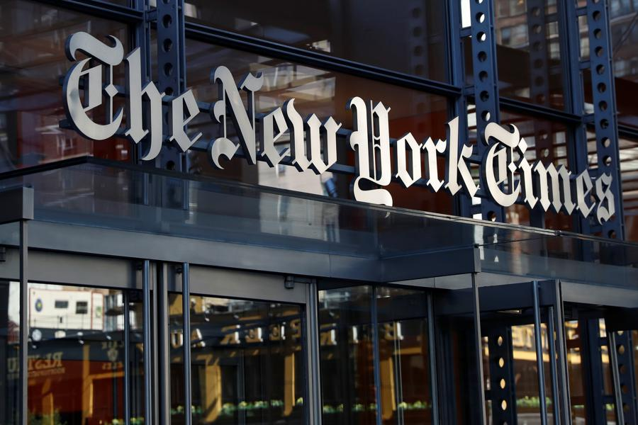 New York Times digital business overtakes print for first time