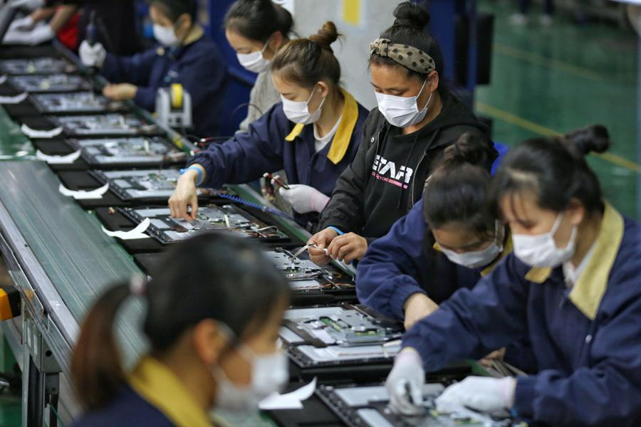 China manufacturers continue to rebound from pandemic