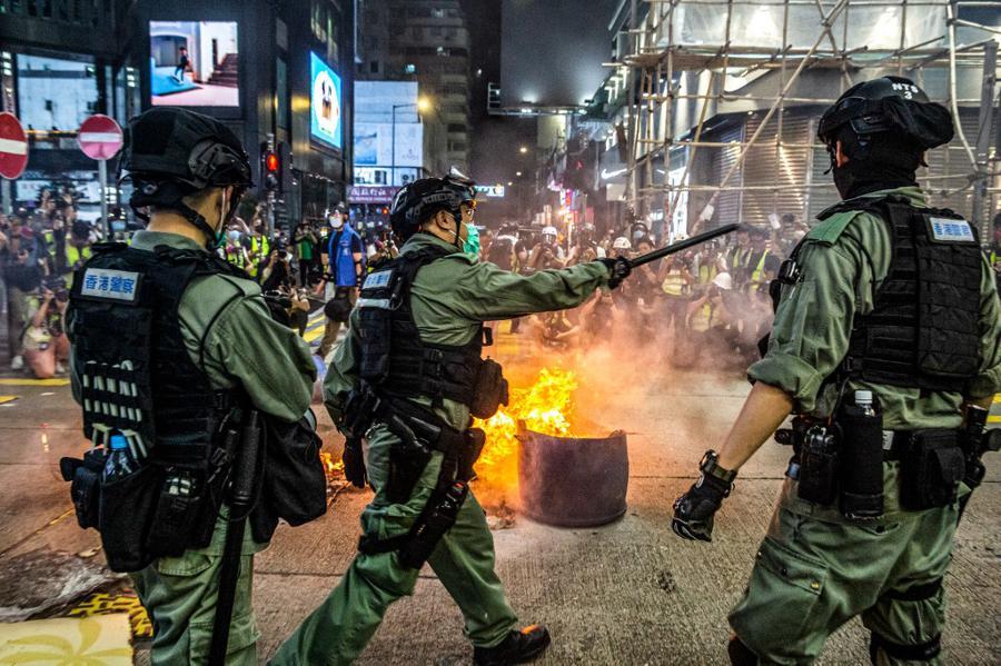 China ratifies Hong Kong security bill