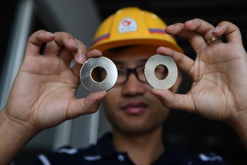 Rare earths gain again in China trading
