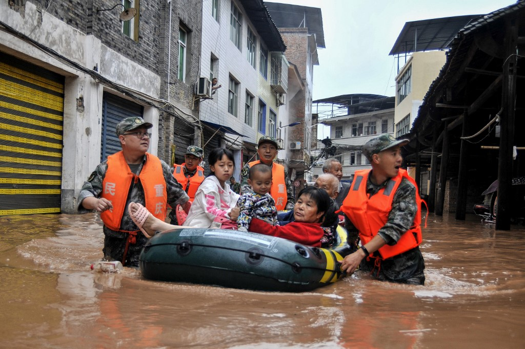 As floods head to Shanghai, China frets on cost of climate change