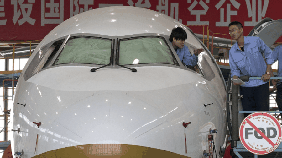 Second assembly line ramps up production for ARJ21