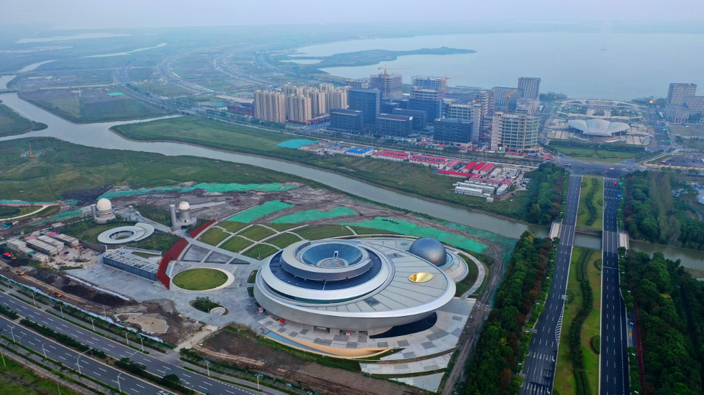 Shanghai spending big to build new 'Silicon Valley'