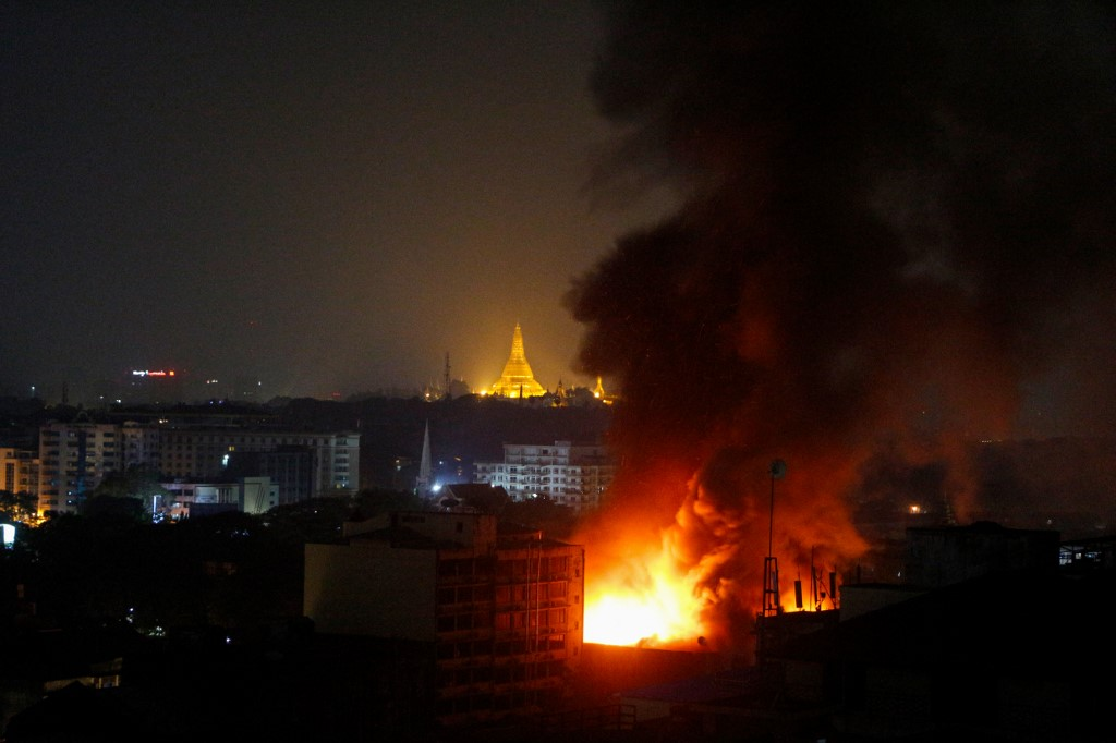 Myanmar heading for state collapse, ICG warns