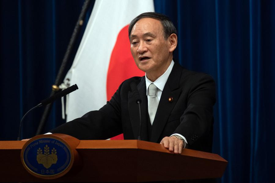 Yoshihide Suga named Japan's new prime minister