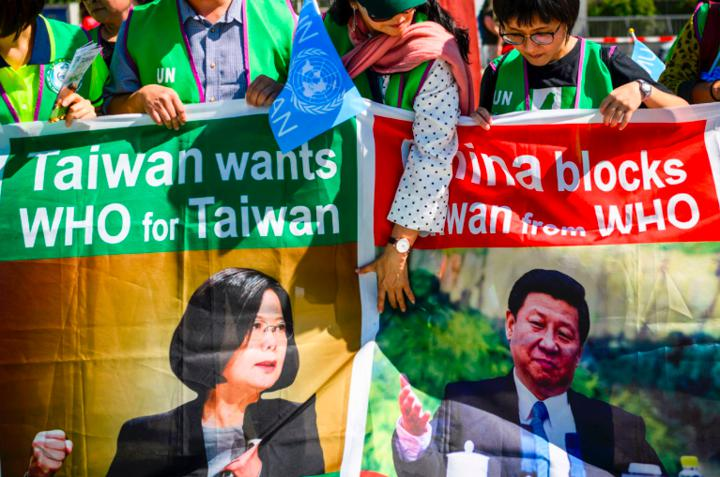 China has been blocking Taiwan's bid to join the WHO. Photo: AFP