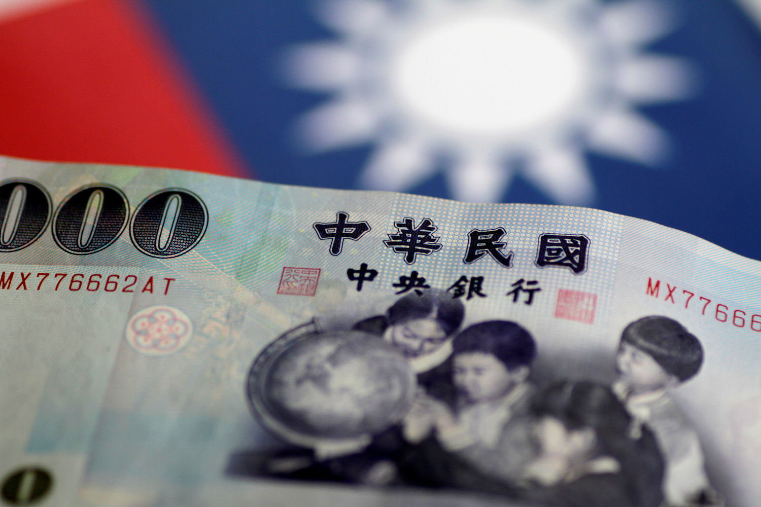 Taipei's foreign exchange reserves rise at a record monthly pace