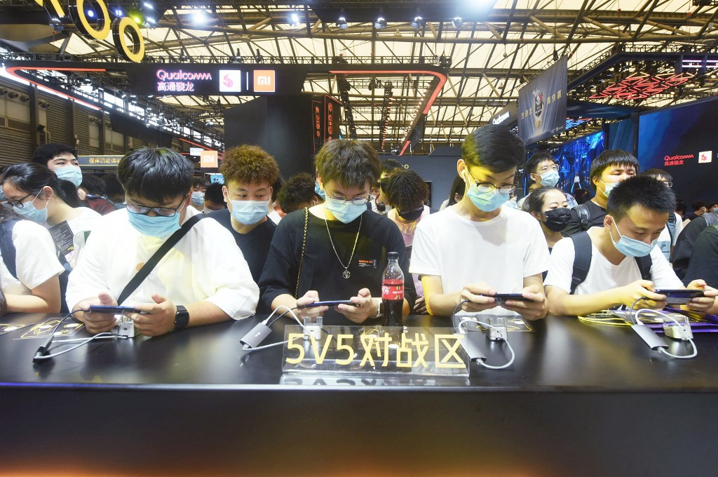 Shares of Chinese gaming firm plunge 62 billion yuan
